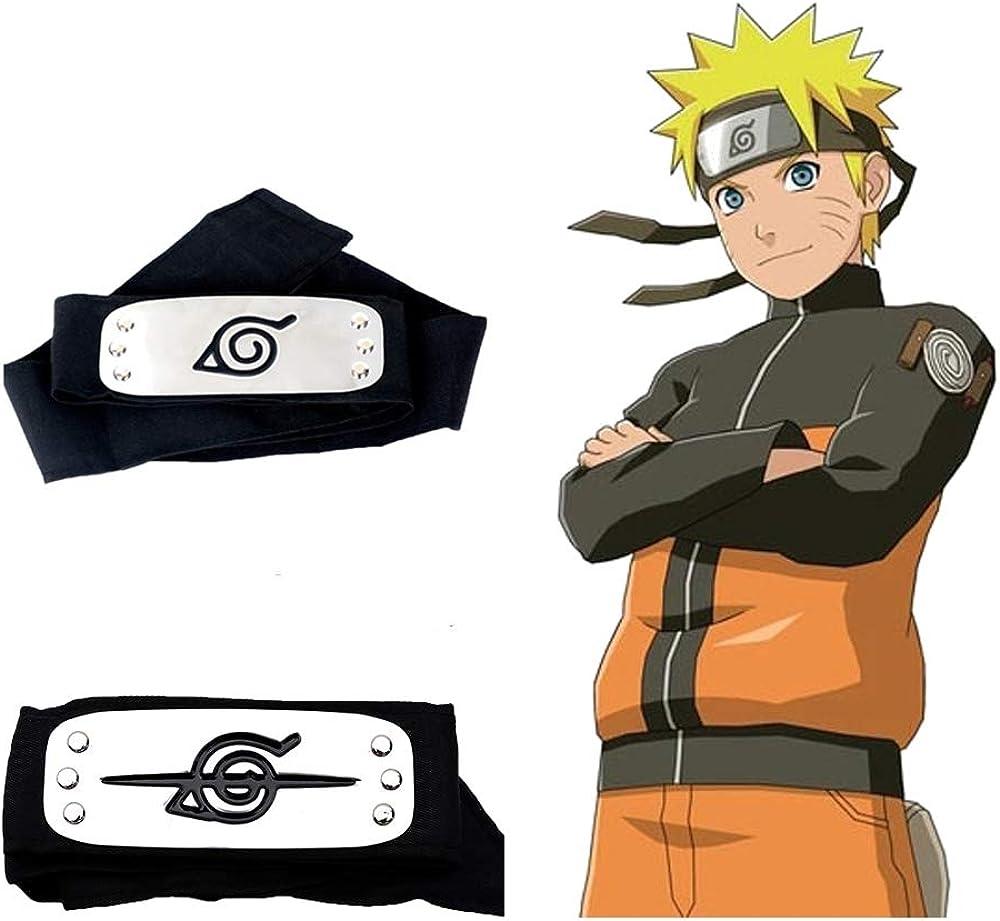 Amazon.com: Diadema Naruto Leaf Village y diadema antihojas ...