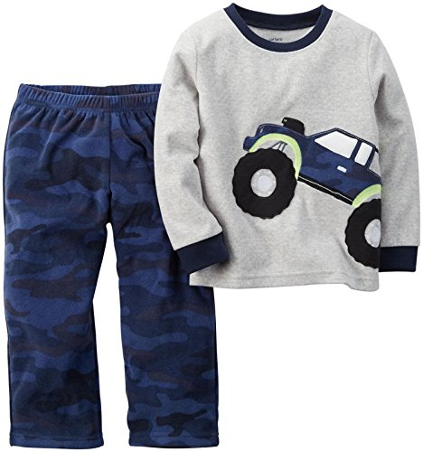 Carter's Baby Boys' 2 Piece Pj Set - Monster Truck - 12 Months