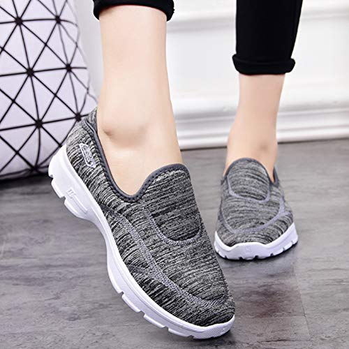 Scarpe Da Donna Sneaker Interior Corsa Grigio Uirend Sneakers Basse All'aperto Casual Running Sportive Ginnastica Fitness pdUqynnHB