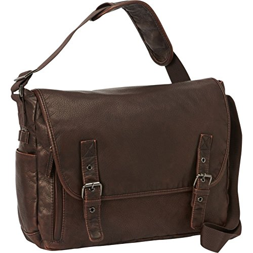 Bellino Mason Messenger Bag, Brown (Bellino Leather Messenger Bag)