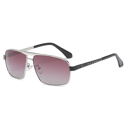Gafas de sol polarizadas de los hombres clásicos Gafas de sol deportivas de los caballeros Gafas
