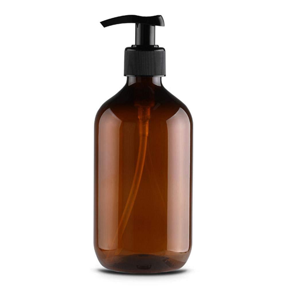 dewdropy Botella De Loci/ón De Pet De 500 Ml Botella De Champ/ú Botella De Gel De Ducha Botella De Loci/ón De Manos Jab/ón Botella De Bomba Vac/ía