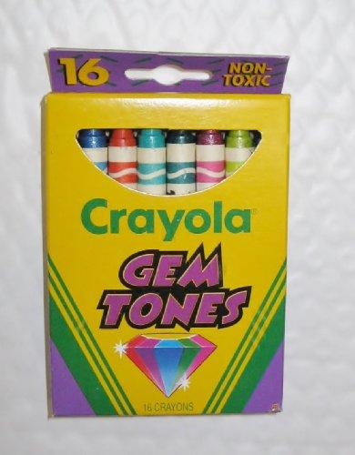 gem crayons - 6