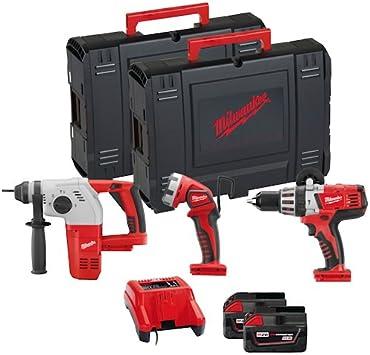 Milwaukee M28 Pack G - Juego de herramientas eléctricas (24 ...