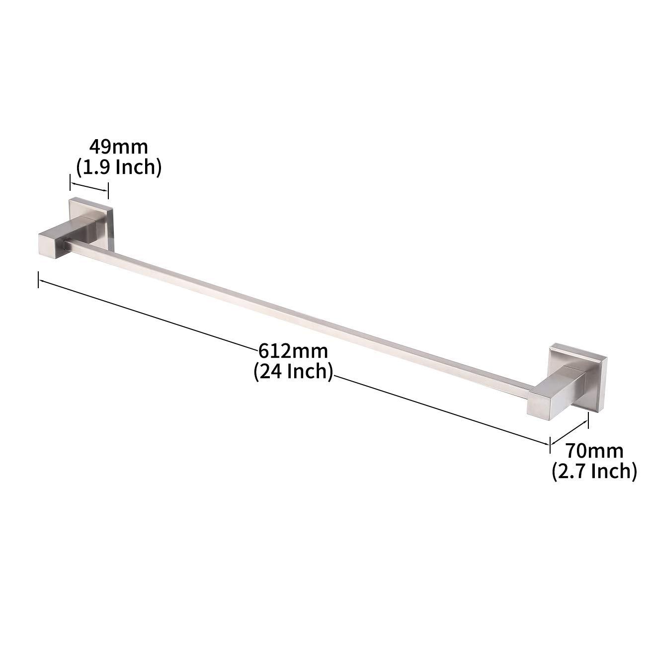 Amazon.com: KES acero inoxidable SUS 304 – Accesorios Baño ...