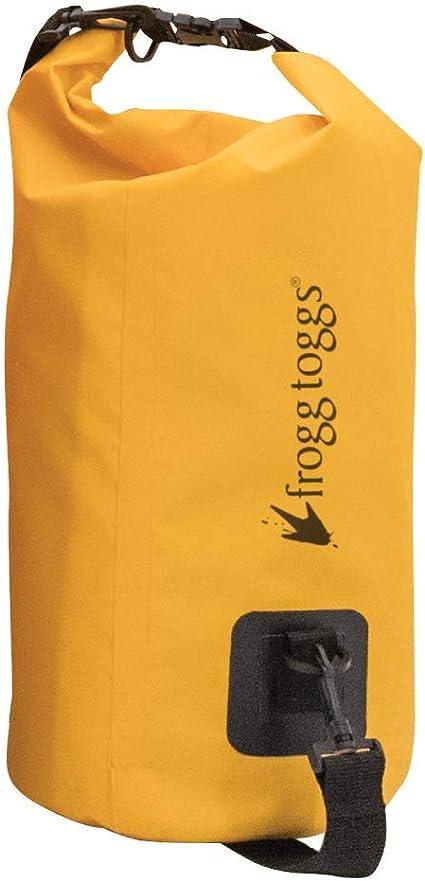 Frog Toggs SDB100-08 PVC Tarpaulin Waterproof Dry Bag with Cooler Insert Yellow
