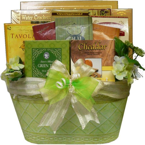 Art of Appreciation Gift Baskets Thinking of You Tea and Gourmet Food Gift Basket
