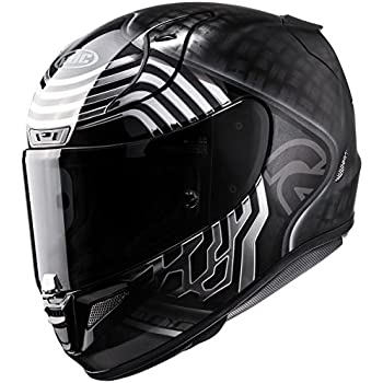 Amazon.com: HJC RPHA 11 Pro Helmet - Riberte (LARGE) (BLACK ...
