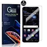 Huawei P10 Screen Protector, Bear Village® Tempered Glass Screen Protector [Lifetime Warranty], HD Screen Protector Glass for Huawei P10-2 PACK