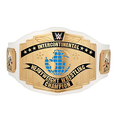 WWE White Intercontinental Championship Replica Title Belt (2014)