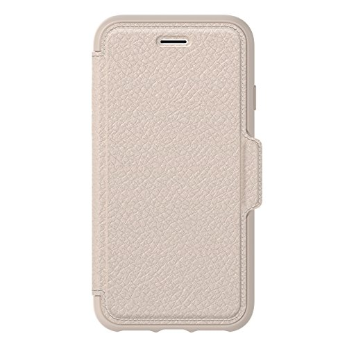 (OtterBox STRADA SERIES Case for iPhone 8 & iPhone 7 (NOT Plus) - Retail Packaging - SOFT OPAL (PALE BEIGE/PALE BEIGE)