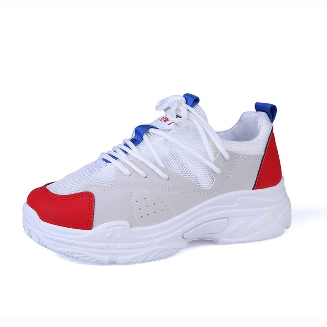 MISS&YG Dames Casual Chaussures de Mode Baskets étudiants en Plein air Confortables antidérapantes Chaussures de Course Femmes