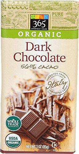 365 Everyday Value, Organic Dark Chocolate Bar (56% Cacao), 3 Ounce