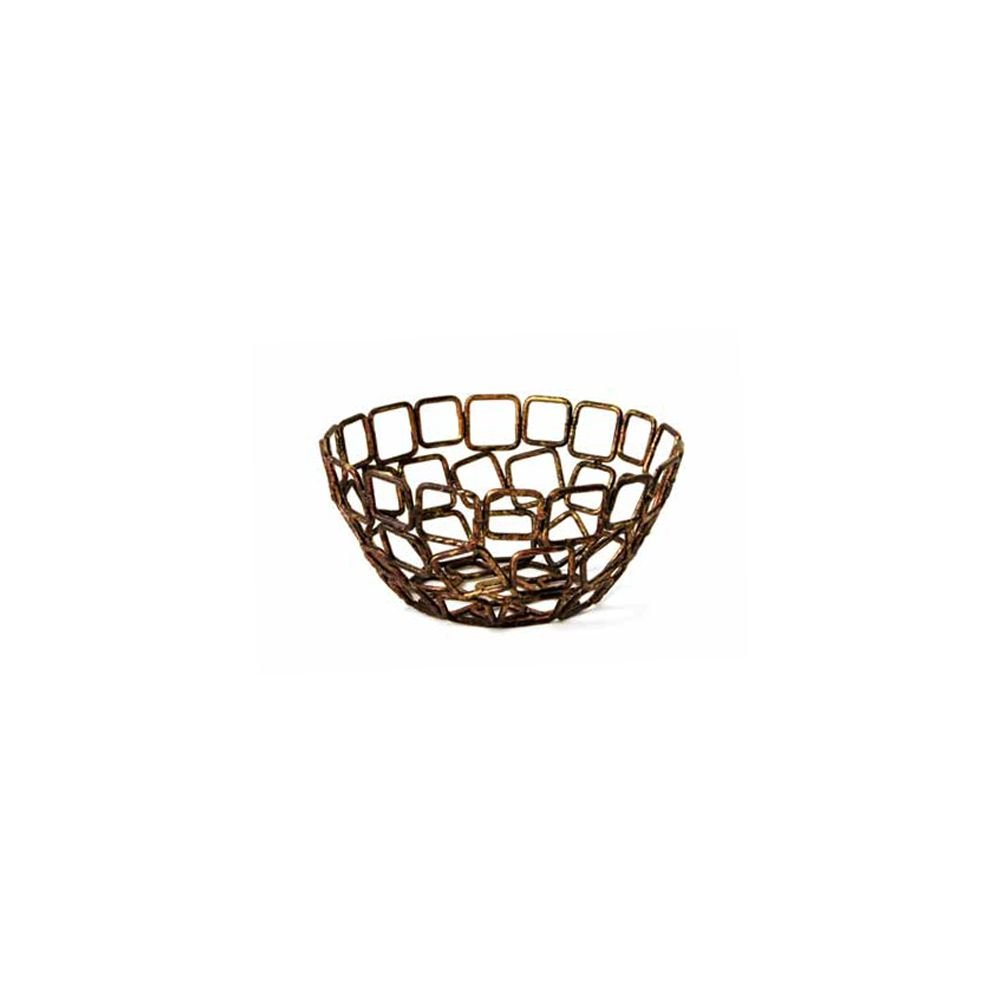 Front Of The House BBK012GOI23 Coppered Linked Bowl - 12 / CS