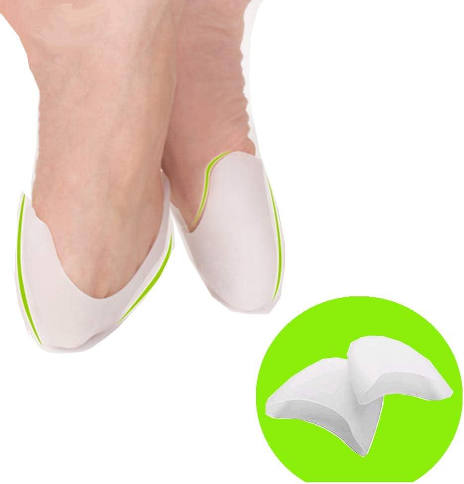 1Pair Womens Girls Silicone Gel Pointe Ballet Dance Shoe Toe Pads Toe Caps Toe