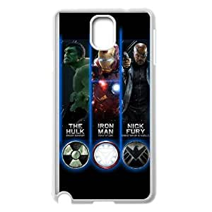 The Avengers Logo Samsung Galaxy Note 3 White Cell Phone Case TAL858239 Clear Phone Cases