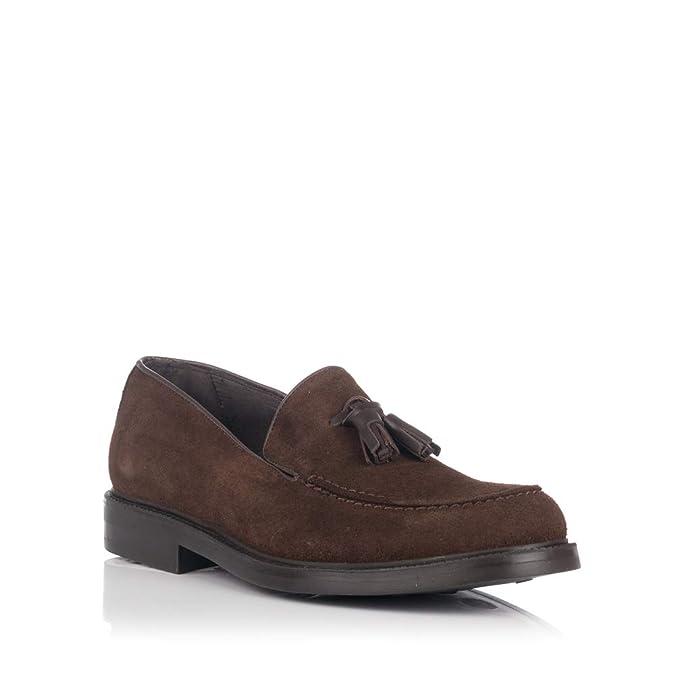 GOMEZ 31049 Mocasin BORLAS Ante Hombre: Amazon.es: Zapatos y complementos
