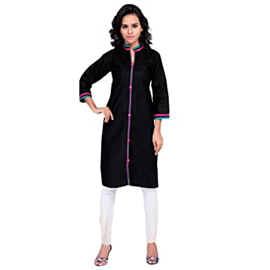 a66d06981e Indian Bollywood 3/4 Sleeve Kurta Kurti Designer Women Ethnic Dress Top  Tunic Pakistani: Amazon.co.uk: Clothing