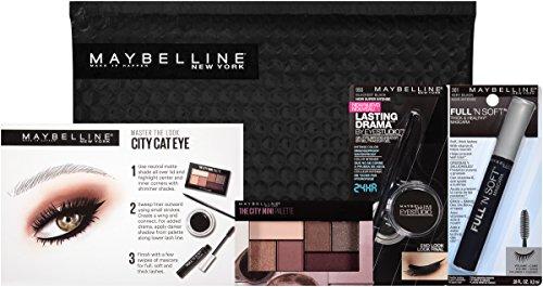 Maybelline New York Ny Minute Mascara Eye Makeup Gift Set, City Cat Eye
