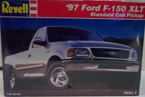 7620 Scale - Revell 7620 1997 Ford F-1 50 XLT Standard Cap Pickup - Plastic Model Kit - 1:25 Scale - Skill Level 2