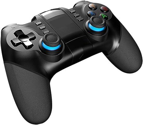 WAN Gamepads, Inteligente regulador del Juego de Bluetooth Gamepad Joystick inalámbrico Consola de Juegos con telescópica del sostenedor para Smart TV/Fon: Amazon.es: Deportes y aire libre