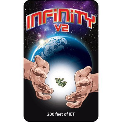 Infinity V2 (Invisible Elastic Thread 200 feet) by Infinity Productions - Trick by Infinity Productions