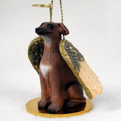 Italian Greyhound Pet Angel Ornament ()