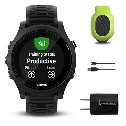 Garmin Forerunner 935 010-01746-00 and Garmin Running Dynamics Pod 010-12520-00 Bundle by Wearable4U