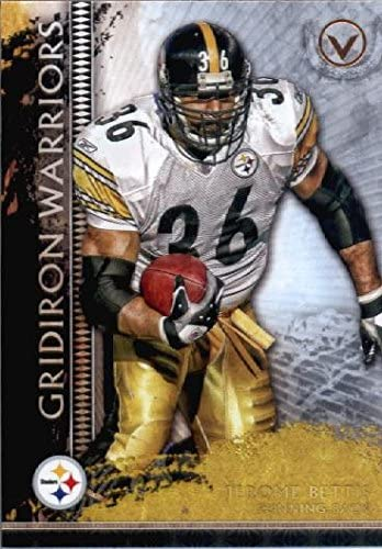 2015 Topps Valor Gridiron Warriors #GW-JB Jerome Bettis Pittsburgh Steelers Football Card