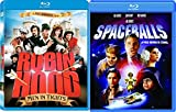 The farce is with you Mel Brooks' Spaceballs + Robin Hood Men in Tights Double Feature Comedy Movie Blu Ray bundle