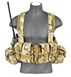 600D Lancer Tactical CA-317 Series T1G Load Bearing Chest Rig (CAMO)