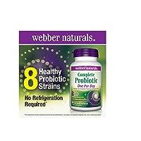 webber naturals Complete Probiotic, 60 Capsules