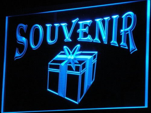 ADVPRO Cartel Luminoso i166-b Open Souvenir Gift Shop ...
