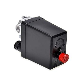JER Reemplazo Regulador de compresor de Aire Medidores de Fase única Válvula de Seguridad Interruptor de