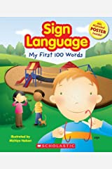 Sign Language: My First 100 Words Paperback