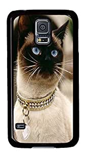 Samsung S5 case brand new covers Siamese Cat Breed PC Black Custom Samsung Galaxy S5 Case Cover
