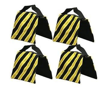 Studiofx Sandbag Sand Bag Saddlebag Design Weight Bags For Photo Video Studio Stand By Kaezi Photography (Yellow - 4 Pack) 0