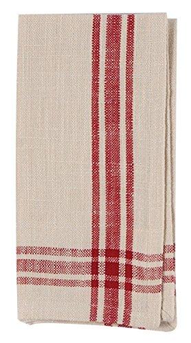 "50 pcs 17/""x17/"" inch Polyester Cloth Napkin Red Wedding Linen Restaurant qh"