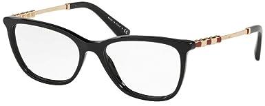 Bulgari 0BV 4161KB 5195 55 Gafas de Sol, Negro (Black ...