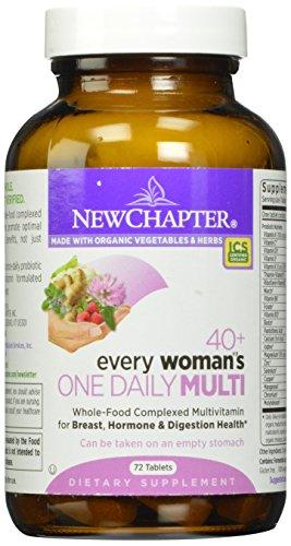 Новая глава каждая женщина в одной ежедневной 40+ Мультивитаминный, 72 таблеток