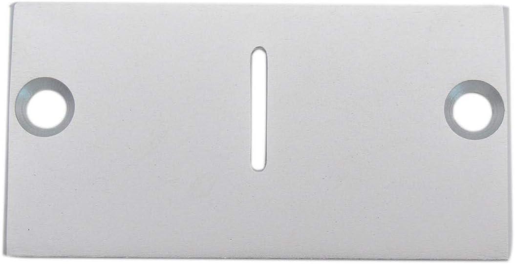 KUNPENG - 1piezas # 543979 Placa de zigzag de movimiento libre de bordado Ajuste para SINGER Industrial Zigzag 20U