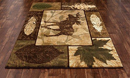 Art Carpet Cabin Collection Moose Creek Woven Contemporary Area Rug, 5