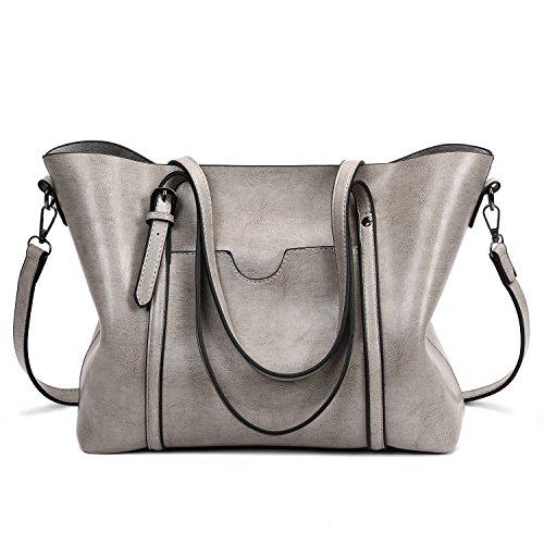 - SIFINI Women Fashion Top Handle Satchel Handbags Shoulder Bag Tote Purse Crossbody Bag