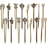 16 Pieces Hair Sticks for Women Hair Pins Chinese