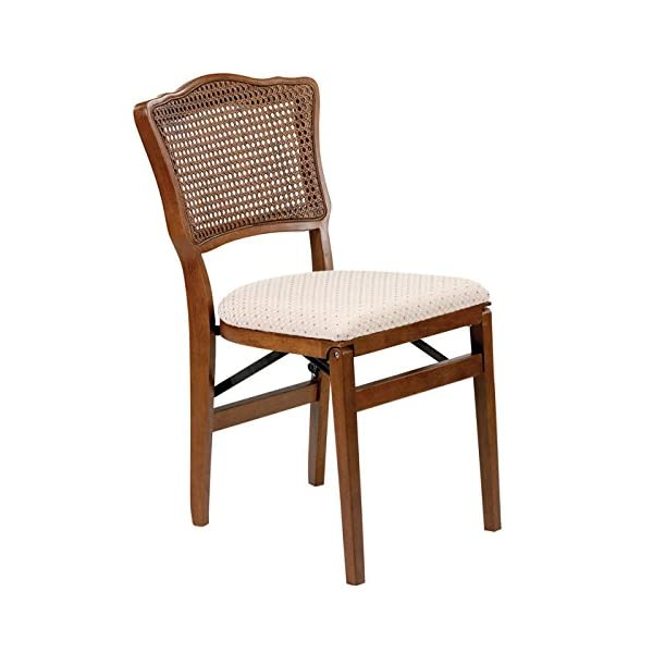 Stakmore French Cane-Back Folding Chair - Set of 2