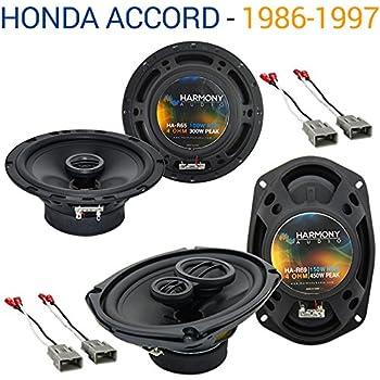6X9 Car Speakers Rear Deck 3way 450w 4ohm 693-RDK-E