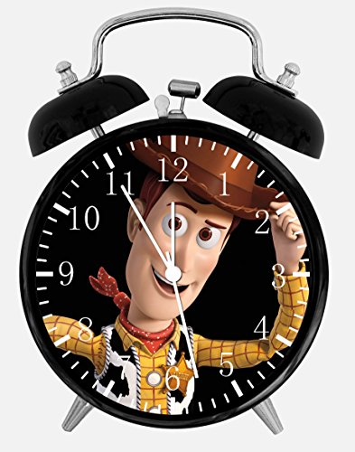 Twin Bell Toy Story Woody Alarm Desk Clock 4