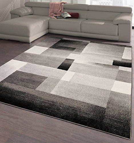 Ottomanson CIT3113-5X7 City Collection Modern Area Rug Contemporary Sculpted Effect Abstract Rug-5x7 (5'3