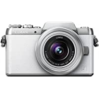 Panasonic DMC-GF7 Mirrorless Digital Camera (DSLM) with 12-32 mm Kit Lens (White) - International Version (No Warranty)