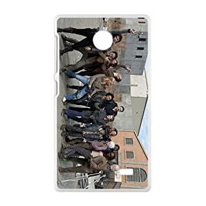 NICKER walking dead cuarta temporada Phone Case for Nokia Lumia X